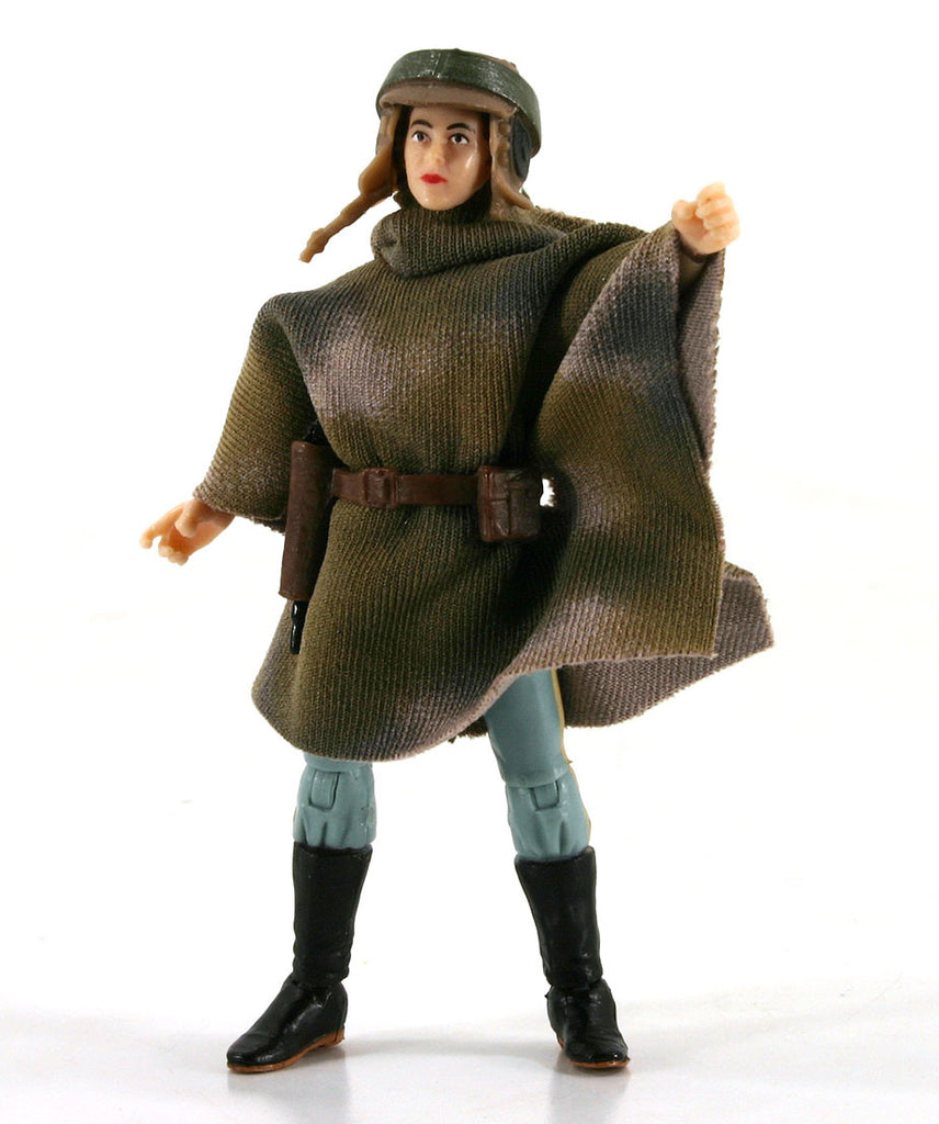 "Princess Leia Organa (In Combat Poncho) Star Wars The Vintage Collection 3.75"" Loose"