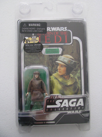 Princess Leia Organa in Combat Poncho The Saga Collection 3.75""