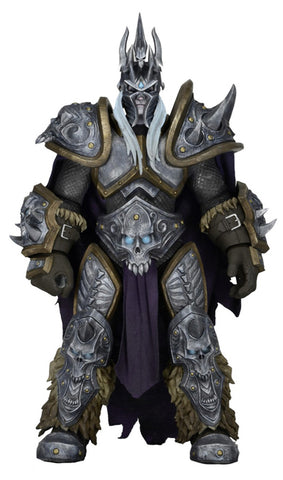 "NECA Heroes of The Storm - Series 2 Arthas Lich King Action Figure (7"" Scale) INCOMPLETE"