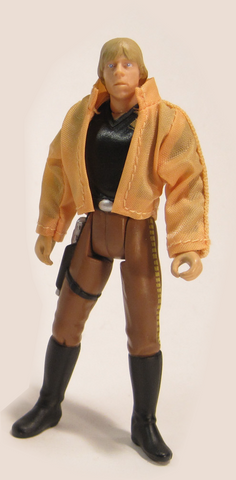 "Luke Skywalker Ceremonial Outfit POTF2 3.75"" Loose"
