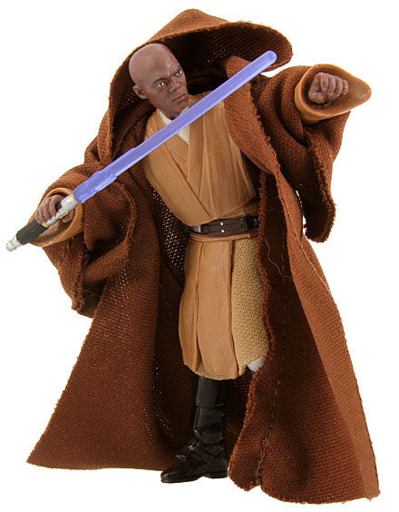 "Mace Windu The Vintage Collection 3.75"" Loose (incomplete)"