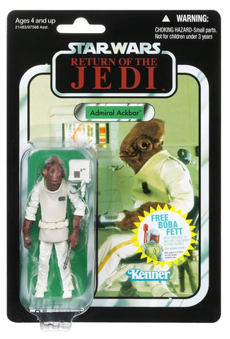 "VC22 Admiral Ackbar The Vintage Collection 3.75"" New"