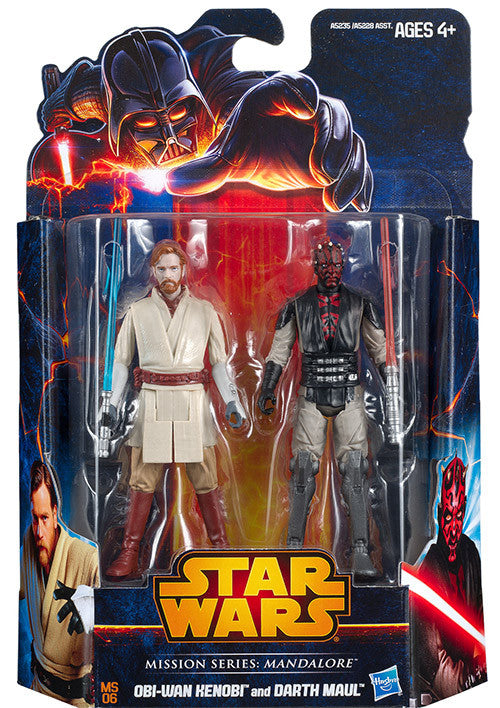 Obi-Wan Kenobi & Darth Maul Mission Series MS06