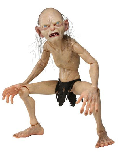 NECA Gollum 1/4 Scale Action Figure Loose