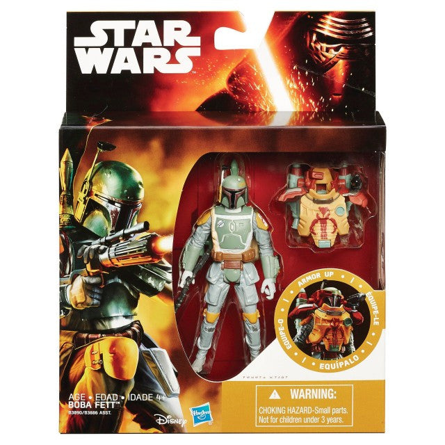 Armor Up Boba Fett Star Wars The Force Awakens 3.75""