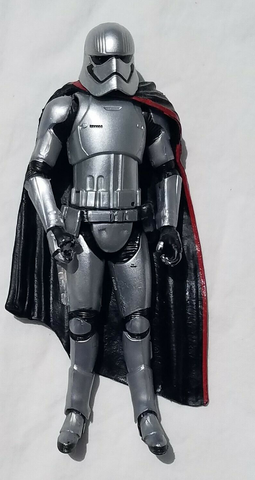 "Captain Phasma Star Wars The Force Awakens 3.75"" Loose (incomplete)"
