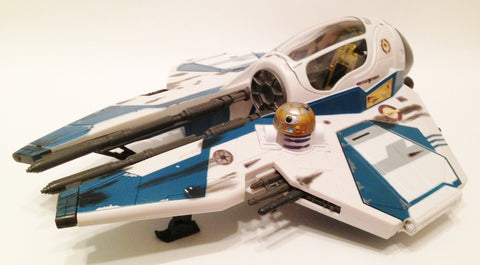 Obi-Wan's Starfighter 30th Anniversary Version 4 Loose