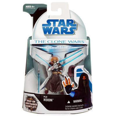 No. 14 Plo Koon The Clone Wars 3.75""