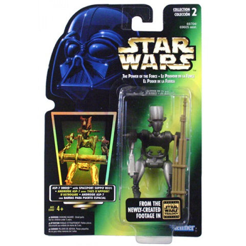 ASP-7 Droid Star Wars POTF2 3.75""