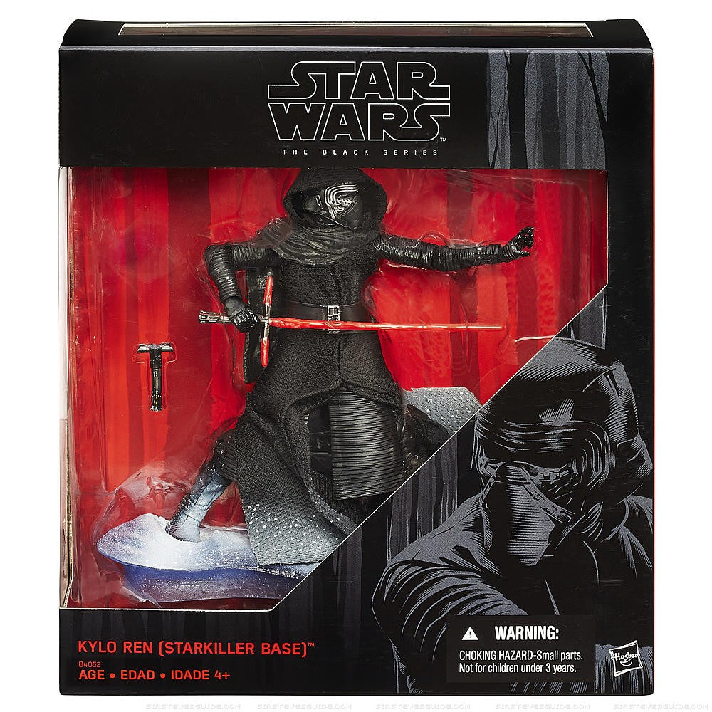 Kylo Ren (Starkiller Base) Star Wars Black Series 6""