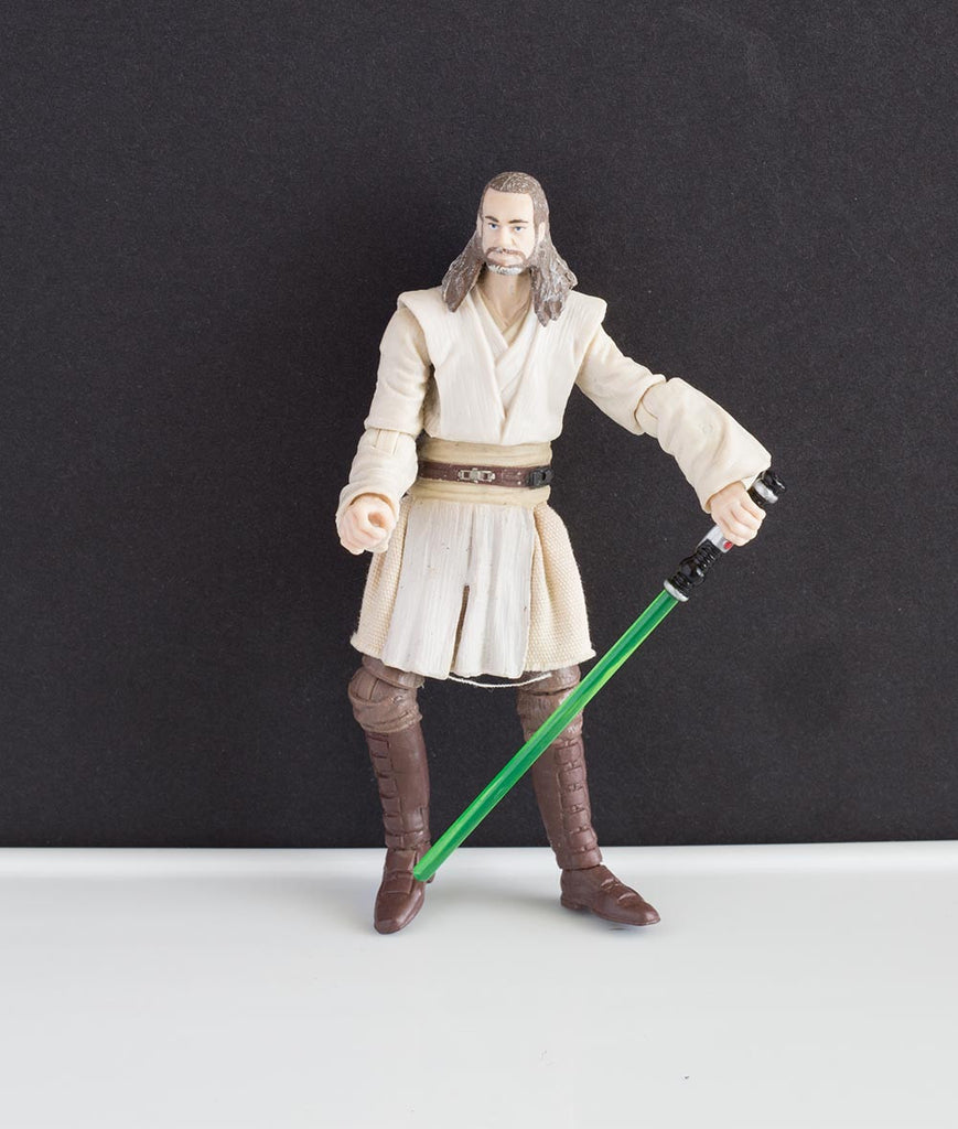"Qui-Gon Jinn The Vintage Collection 3.75"" Loose"