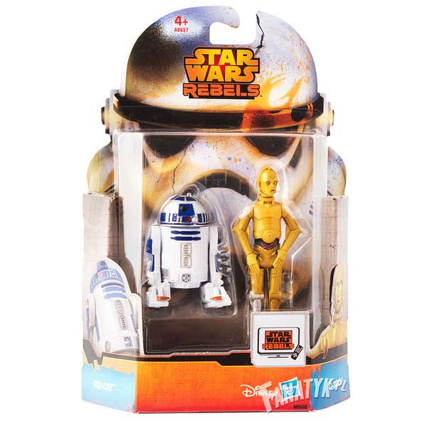 "Star Wars Rebels Saga Legends 3.75"" Mission Series R2-D2 C-3PO"
