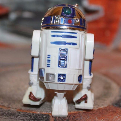 "R2-D2  (EARLY BIRD KIT) - STAR WARS REVENGE OF THE SITH COLLECTION, SHINY DOME 3.75"" Loose"