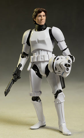 "#09 Han Solo Stormtrooper Disguise Black Series 6"" Loose"