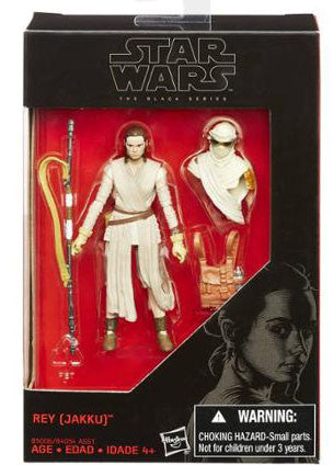 Star Wars The Black Series Rey (Jakku) 3.75""