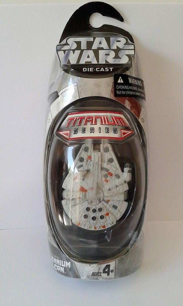 Millenium Falcon Titanium Series Scaled Model Vehicle (2005)