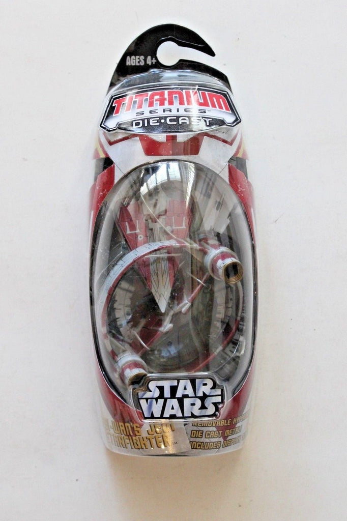 Obi Wan's Jedi Starfighter (Hyperdrive Ring) Titanium Series Scaled Model Vehicle