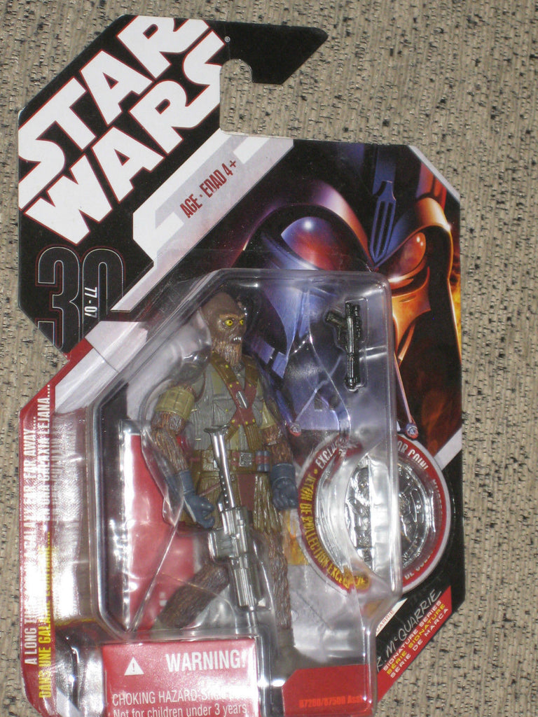 Chewbacca McQuarrie Signature Series 30th Anniversary 3.75""