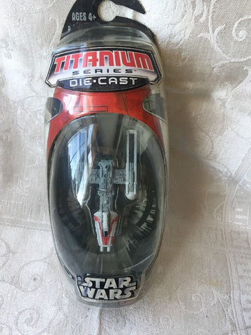 Y-Wing (Red Stripe) Titanium Series Scaled Model Vehicle (2006)