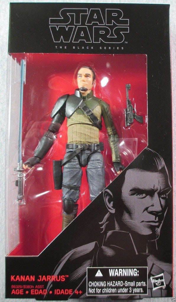 #19 Kanan Jarrus Star Wars Black Series 6""