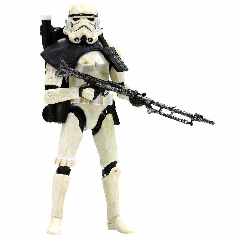 "#01 Sandtrooper Black Series 6"" Loose"