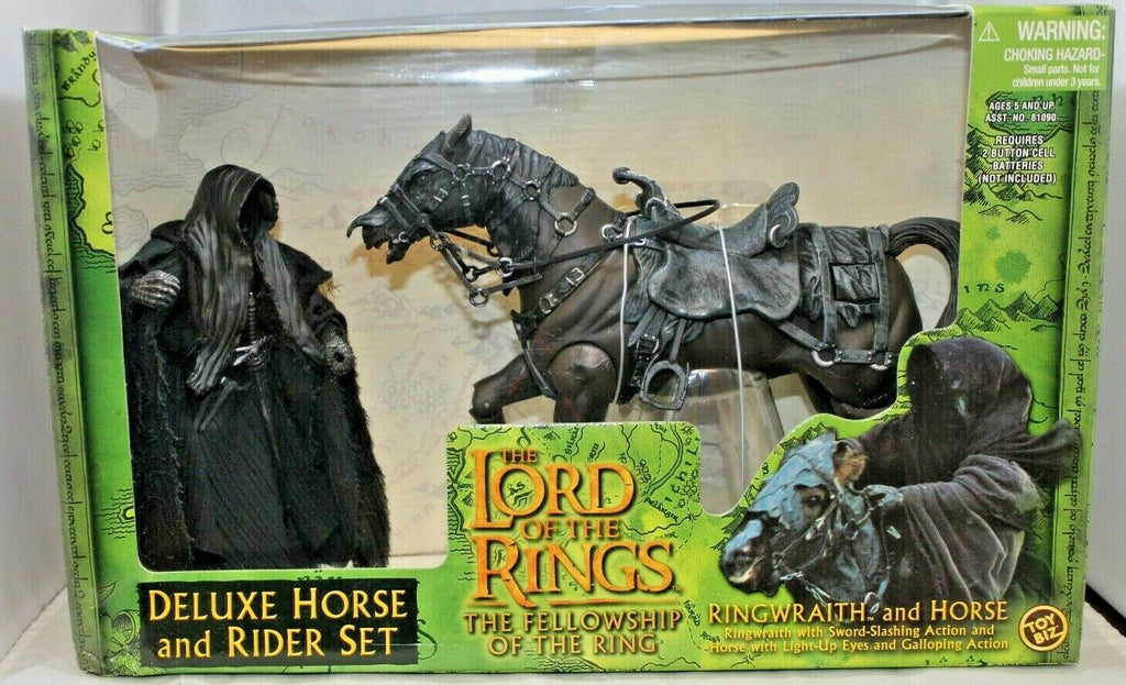 Ringwraith and Horse Lord of the Rings Deluxe Horse and Rider Set