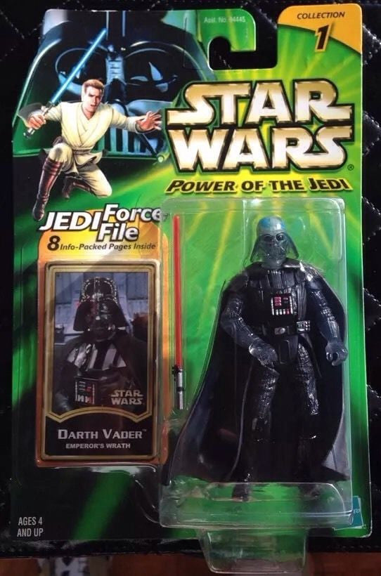 Darth Vader Emperor's Wrath  Power of the Jedi NEW 3.75""
