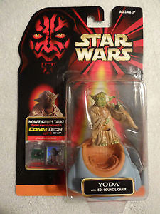Yoda Episode 1 Jedi Council POTF2 NEW 3.75""