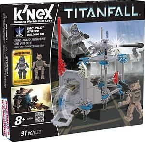 Titanfall K'Nex 91pc NEW