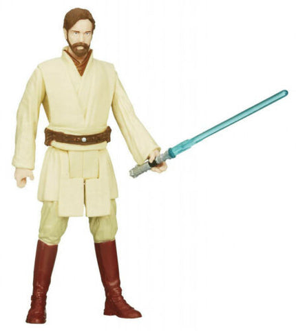 "SL04 Obi-Wan Kenobi Saga Legends Star Wars 3.75"" Loose (incomplete)"