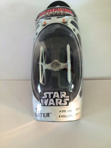TIE Fighter (White Exclusive) Titanium Series Scaled Model Vehicle (2006)