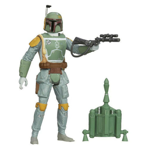 "SL09 Boba Fett Saga Legends Star Wars 3.75"" Loose"
