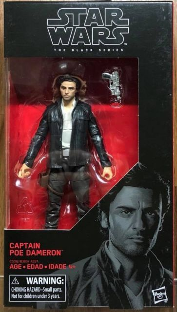 #53 Captain Poe Dameron Star Wars Black Series 6""