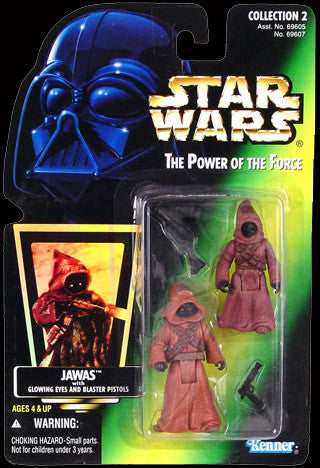 "POTF2 Jawas Star Wars 3.75"" New"