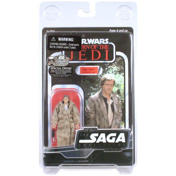 Han Solo (in Trench Coat) SAGA Collection 3.75""