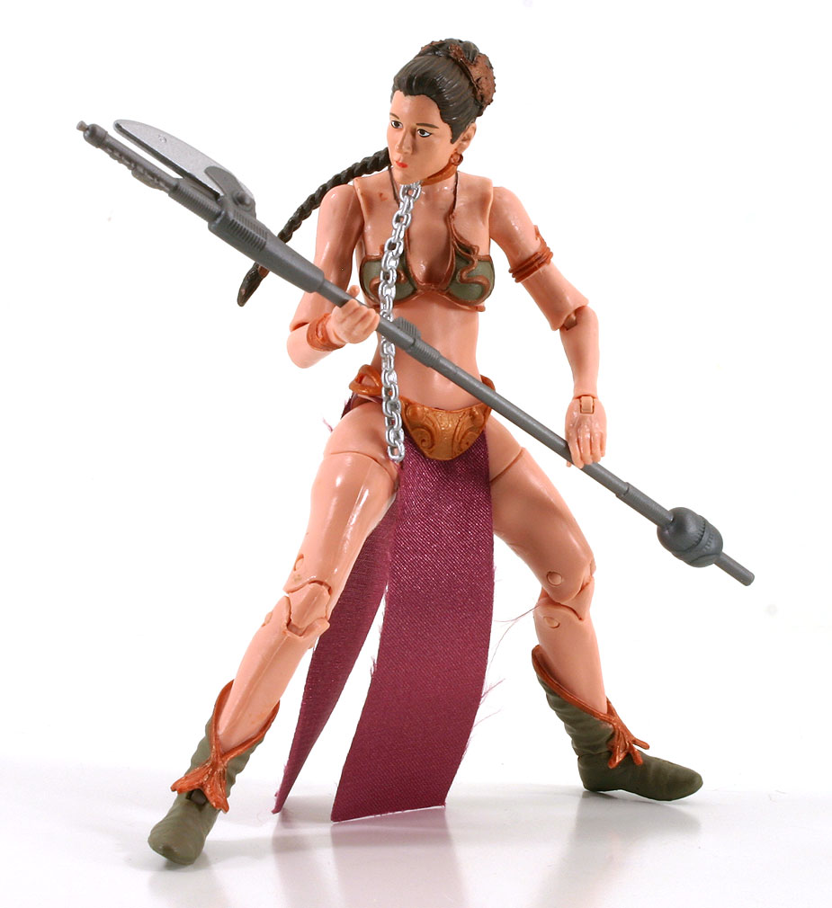 Princess Leia Slave Outfit Black Series Loose 6""