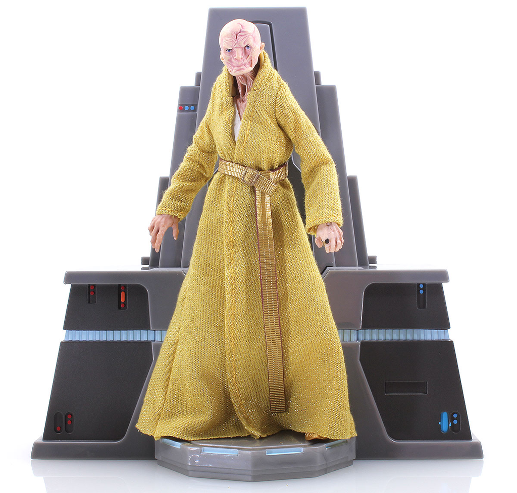 "Supreme Leader Snoke with Throne Star Wars Black Series 6"" Loose"