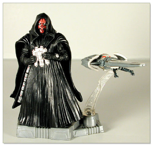 "Darth Maul with Sith Infiltrator Trophy EP1 3.75"" Loose"