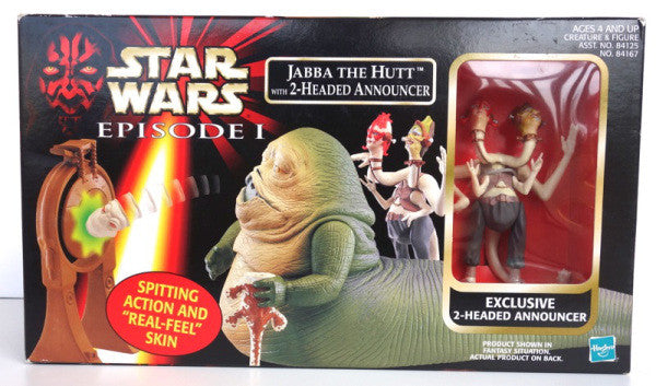 Episode 1 Jabba the Hutt with 2-Headed Announcer
