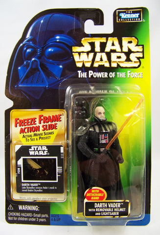 Darth Vader (Removable Helmet) Star Wars POTF2 3.75""