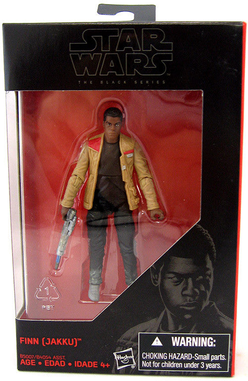"Star Wars The Black Series 3.75"" Finn Figure New"
