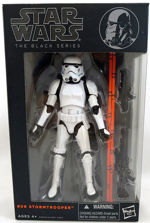 #09 Stormtrooper Star Wars Black Series 6""