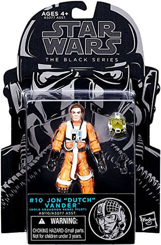 "#10 Jon ""Dutch"" Vander Star Wars Black Series 3.75"""