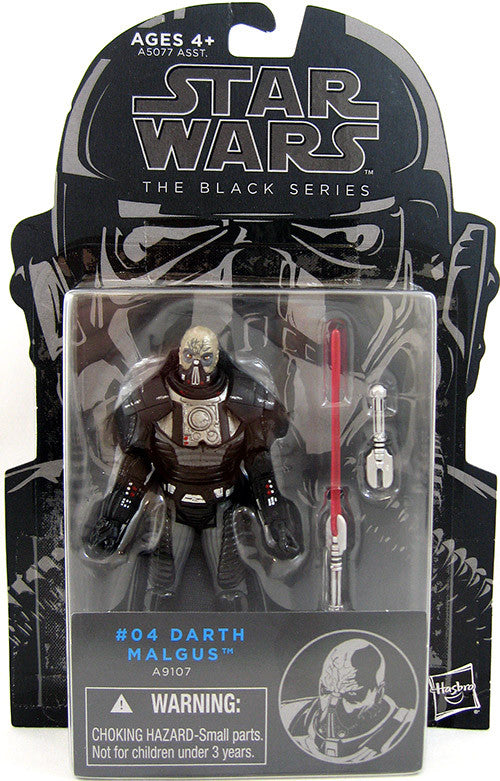 #04 Darth Malgus Star Wars Black Series 3.75""