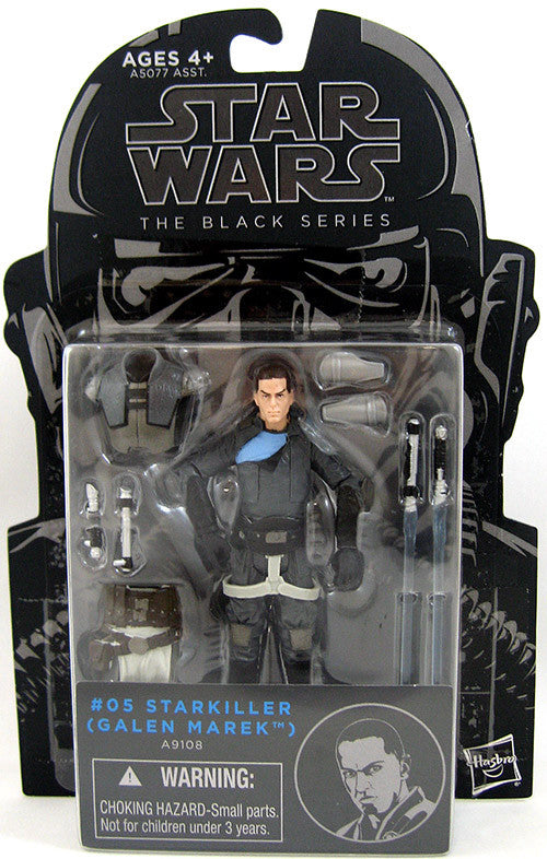 #05 Galen Marek Star Wars Black Series 3.75""