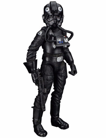 "#05 TIE Fighter Pilot Star Wars Black Series 6"" Loose"