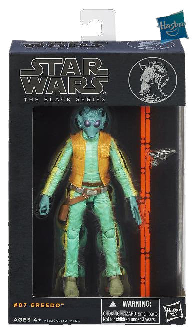 #07 Greedo Star Wars Black Series 6""