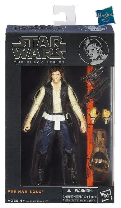 #08 Han Solo Star Wars Black Series 6""