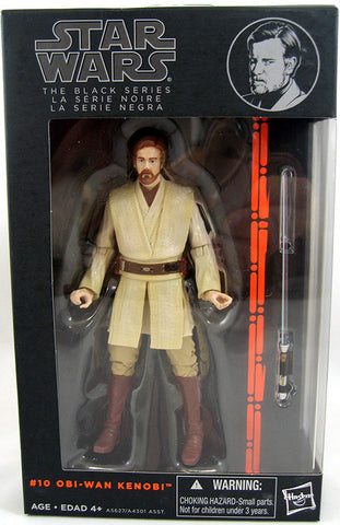 #10 Obi-Wan Kenobi Star Wars Black Series 6""