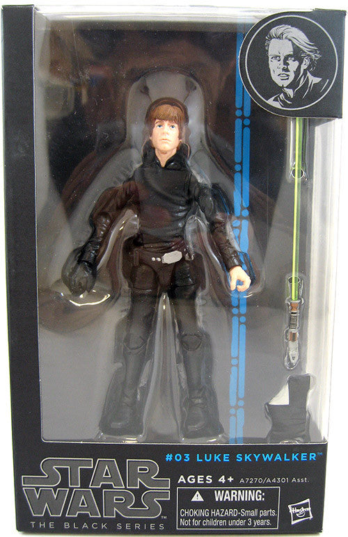 #03 Luke Skywalker Star Wars Black Series 6""